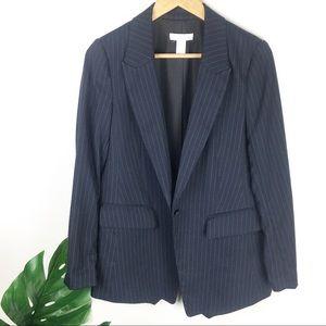 HM   Oversized pin stripe blazer